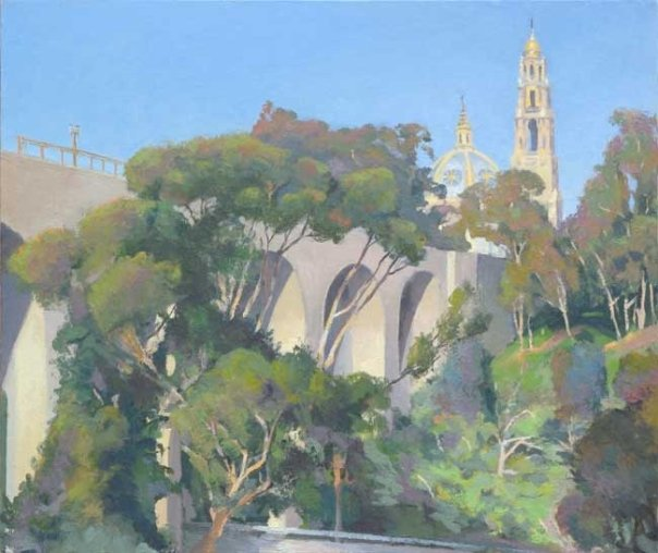 Cabrillo Bridge and Museum of Man, Balboa Park