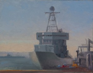 LarryGroff_ship_11x14_oil_2014